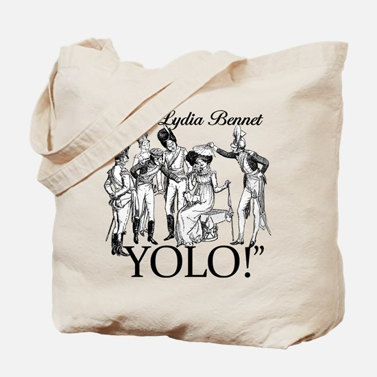 Lydia Bennet YOLO Tote Bag