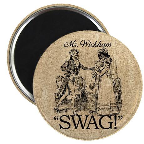 Mr Wickham Swag Magnet