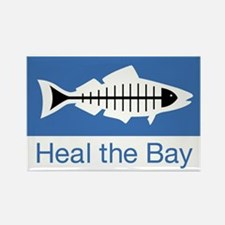 Heal the Bay Rectangle Magnet