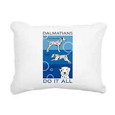 Cute Dalmatian Rectangular Canvas Pillow