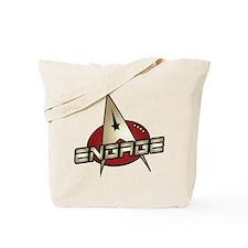 Picard Engage Badge Tote Bag