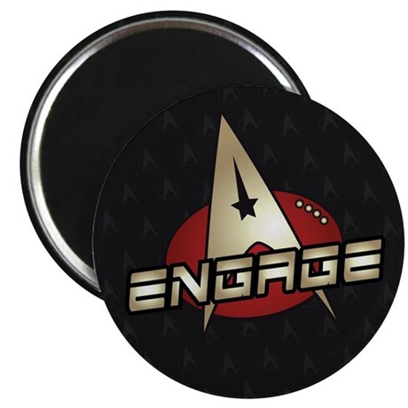 """Picard Engage Badge 2.25"""" Magnet (100 pack)"""
