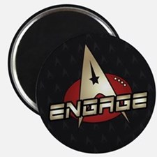 Picard Engage Badge Magnet