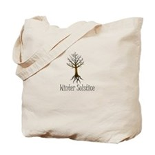 Winter solstice FALL TREE magic pagan wiccan Tote