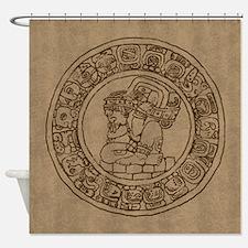 Mayan Calendar Shower Curtain