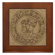 Mayan Calendar Framed Tile