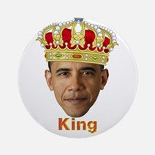 King Barack I v2 Ornament (Round)