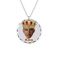 King Barack I v2 Necklace Circle Charm