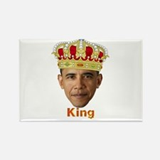 King Barack I v2 Rectangle Magnet