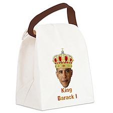 King Barack I v2 Canvas Lunch Bag