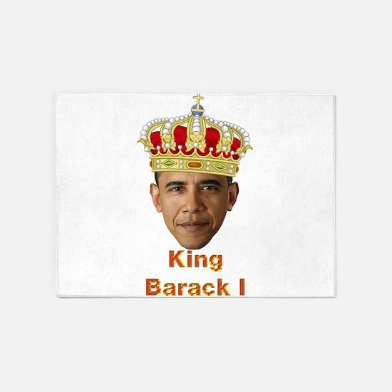 King Barack I v2 5'x7'Area Rug