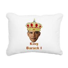 King Barack I v2 Rectangular Canvas Pillow