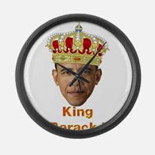 King Barack I v2 Large Wall Clock