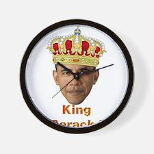 King Barack I v2 Wall Clock