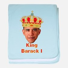 King Barack I v2 baby blanket