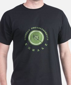 Support Photosynthesis Exhale Logo T-Shirt