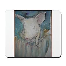Piglet, animal art! Mousepad
