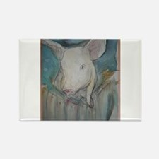 Piglet, animal art! Rectangle Magnet