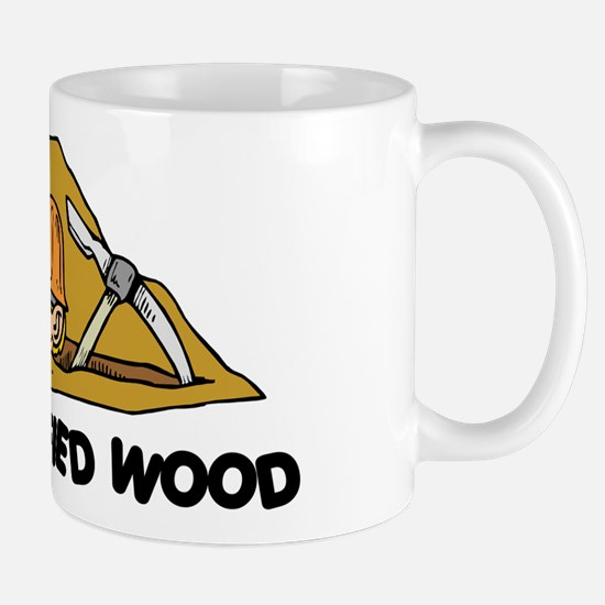 Rockhound I Dig Petrified Wood Mug