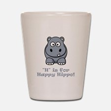 Unique Funny hippo Shot Glass