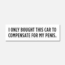 Small Cars Car Magnet 10 x 3