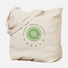 Support Photosynthesis Exhale Logo Tote Bag