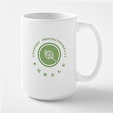 Support Photosynthesis Exhale Logo Large Mug