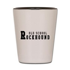 Old School Rockhound Shot Glass