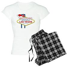 Welcome to Las Vegas Christmas Pajamas