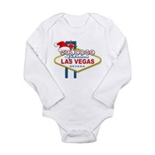 Welcome to Las Vegas Christmas Long Sleeve Infant