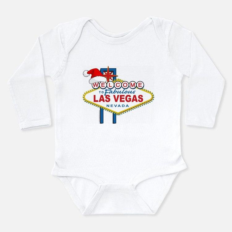 Welcome to Las Vegas Christmas Long Sleeve Infant