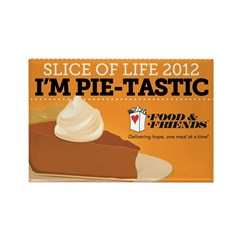 Slice of Life Magnet for Pie Sellers