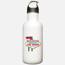 Welcome to Las Vegas Christmas Water Bottle