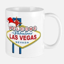 Welcome to Las Vegas Christmas Mug