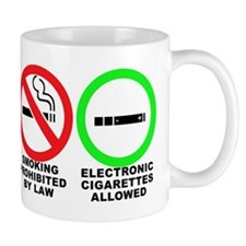 Vaping sticker Mug