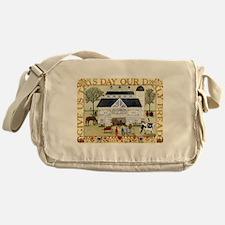 Cute Folk art Messenger Bag