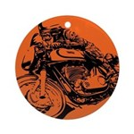 CAFE RACER NORTON Ornament (Round)