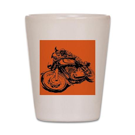 CAFE RACER NORTON Shot Glass