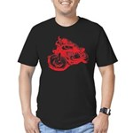 CAFE RACER NORTON Men's Fitted T-Shirt (dark)
