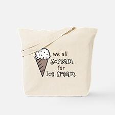 We All Scream Tote Bag