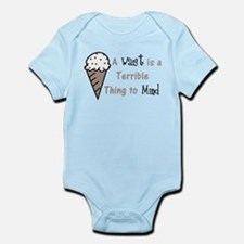 A Terrible Thing Infant Bodysuit