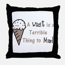A Terrible Thing Throw Pillow