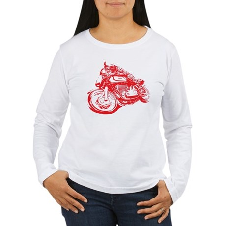 Norton Cafe Racer Women's Long Sleeve T-Shirt