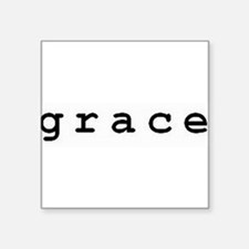 "Grace Square Sticker 3"" x 3"""