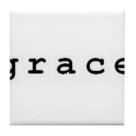 Grace Tile Coaster
