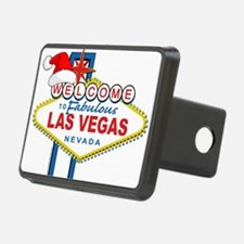 Welcome to Las Vegas Christmas Hitch Cover