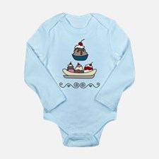 Sundaes Long Sleeve Infant Bodysuit