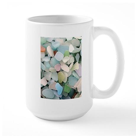 Sea glass Large Mug