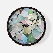 Sea glass Wall Clock