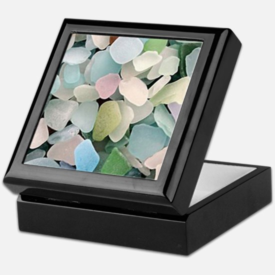 Sea glass Keepsake Box